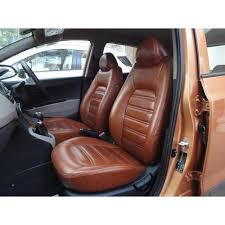brown leather car seat cover rs 5000