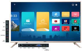 Smart Tivi Voice Seach Full HD 43 Inch Asanzo 43VS9 + Tặng Kèm Remote Thông  Minh (Android Tivi 6.0, Chế Độ Tiết Kiệm Điện, Kết Nối Với Điện Thoại Thông  Minh)