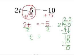 solving two step equations word