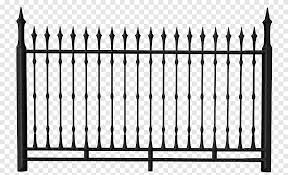 Black Metal Fence Fence Chain Link Fencing The Fetzer Institute Black Iron Fence Image File Formats Rectangle Png Pngegg