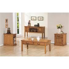 48in coffee table light oak