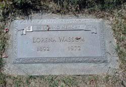 Lorena Myrtle Patterson Wassom (1892-1972) - Find A Grave Memorial