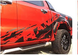 Sticker Car Cover Decal Vinyl Matte Black Mud Wildtrak Ford Ranger T6 12 13 14 Auto Parts And Vehicles Other Car Truck Decals Stickers Uvepan Com Ar
