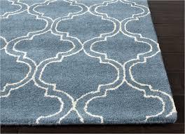 hand tufted durable wool art silk