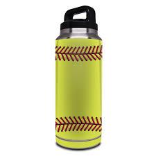 Softball Yeti Rambler Bottle 36oz Skin Istyles