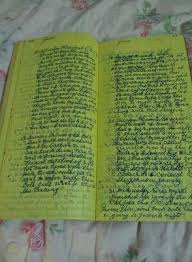 1950 HANDWRITTEN DIARY/JOURNAL OF ADDIE WILSON/ MICHIGAN/FULL!FULL ...