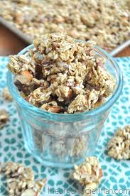 homemade granola the organic ian
