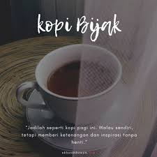 kata kata kopi pagi r tis santri bijak barista lucu