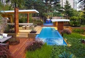 above ground pool designs and patio ideas