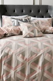 blush subtle sequins bedding set