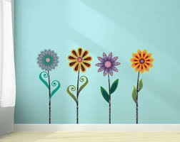 Funky Wall Decal Etsy