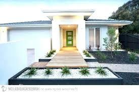 modern front yard garden ideas