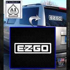 Ez Go Golf Car Cart Decal Sticker Logo A1 Decals