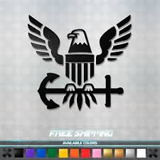 Us Navy Eagle Vinyl Decal Sticker American Military Car Window Truck Laptop Ebay