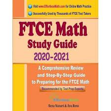 FTCE Math Study Guide 2020 - 2021 - By Ava Ross & Reza Nazari (Paperback) :  Target