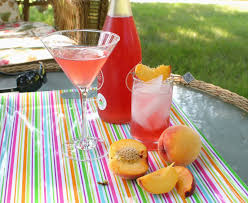 All Our Fingers in the Pie: Peach Melba Cordial