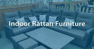 indoor rattan furniture chairs sets