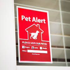 Free 2 Pack Pet Alert Stickers For Every Door Window Of Your Home Supplies Very Limited