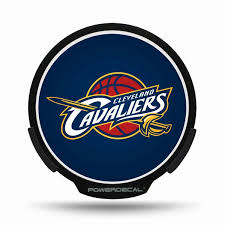 Cleveland Cavaliers Led Window Decal Light Up Logo Powerdecal Nba Balmart Sports Merchandise