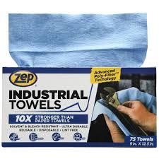 l blue industrial towels 1049801