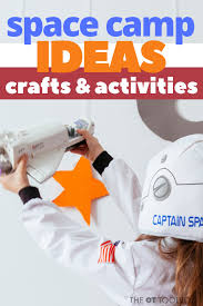 Space Activities For Kids The Ot Toolbox