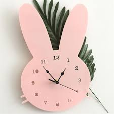 Kids Wall Clock Nordic Wooden D Wall Clock Kids Room Decorate Nursery Baby Shower Gift Home Decoration Large Vintage Wall Clocks Large Wall Clock From Galry 23 58 Dhgate Com