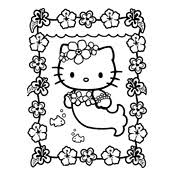 Kleurplaten Hello Kitty