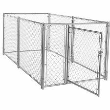 Lucky Dog Modular Chain Link Kennel Kit 4 Ft H X 5 Ft W X 10 Ft L At Tractor Supply Co
