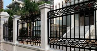 Aluminum Fencing Ideas Stylish House Exterior Design