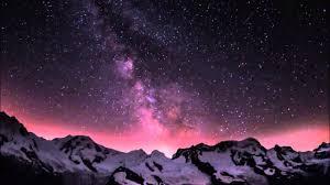 مشاهد للمونتاج ليل سماء نجوم Hd Video Background Youtube