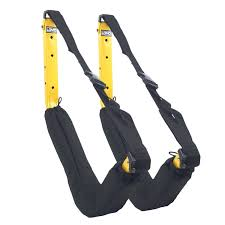 Deluxe Kayak Wall Rack Yellow