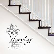 Wall Pops Multi Color Family Tree Wall Quote Decal Dwpq2760 The Home Depot