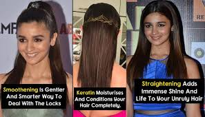 difference between keratin treatment