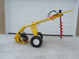 Post Hole Digger One Man Fence Building Equip Tools Rental Equipment Mountain View Supply Rentals
