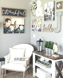 living room picture collage ideas best