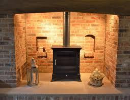 snap shots brick fireplace surround
