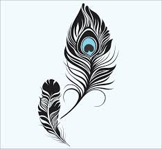 Feather Wall Decal Peacock Feather Vinyl Sticker Decals Art Decor Design Wall Decal Girls Room Birds Vinyl W Feather Wall Decal Creative Wall Art Feather Wall