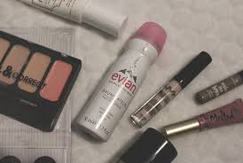 wedding guest make up with evian