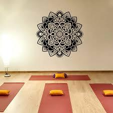 Indiana Yoga Wall Decals Mandala Meditation Ornament Wall Stickers Vinyl Mural Home Decals Cw 76 Yoga Wall Decal Wall Decalswall Sticker Aliexpress