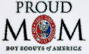 Eagle Scout Proud Mom Decal Boy Scouts Of America