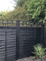 Ronseal One Coat Fence Life Tudor Black Oak Matt Fence Shed Wood Treatment 5l Departments Diy At B Q