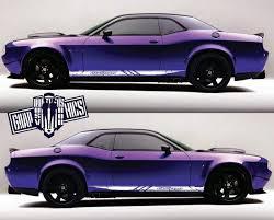Racing Stripes Dodge Challenger Srt Decals Dodge Challenger Sticker
