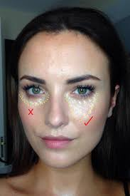 how to hide large bags under eyes