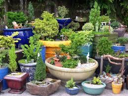garden ideas flower pot city nice