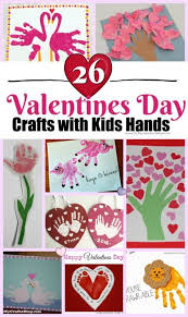 cute valentine s day crafts with kids hands
