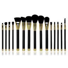15pcs professional makeup brushes set