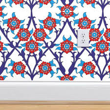 ottoman saten wall tile iznik