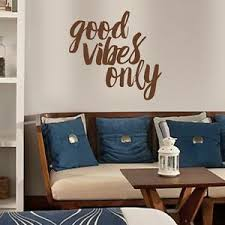 Inspiration Wall Decal Good Vibes Only Quote Vinyl Removable Art Home Room Decor Ebay