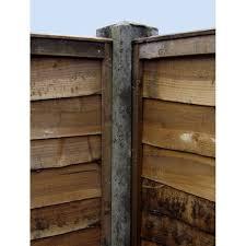 8 Slotted Concrete Corner Post 125mm X 125mm X 2440mm