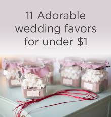 wedding favors for under one dollar
